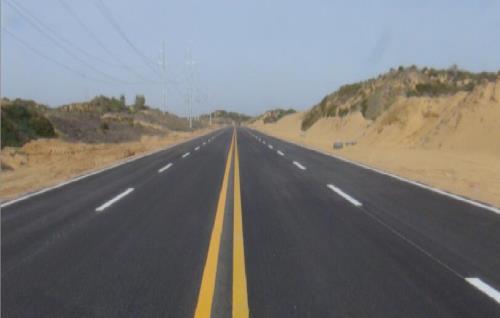 榆神工业园区道路
